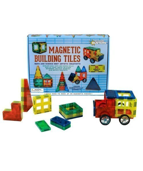 Magnetic Building Tiles Boredom Busters Stem Product